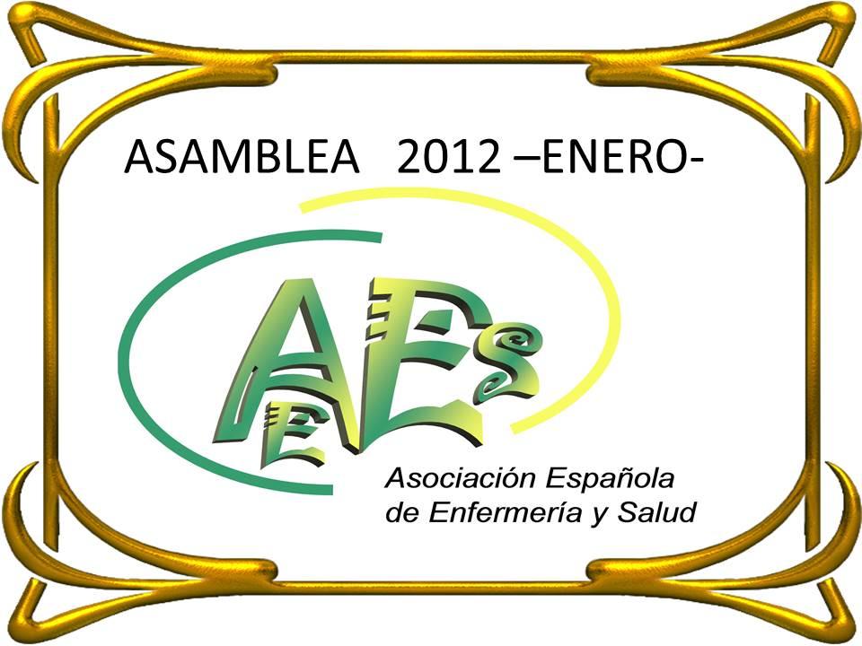 ASAMBLEA 2012 – ENERO