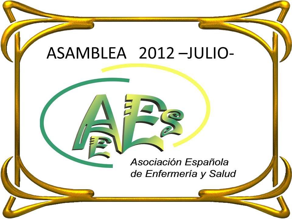 ASAMBLEA 2012 – JULIO