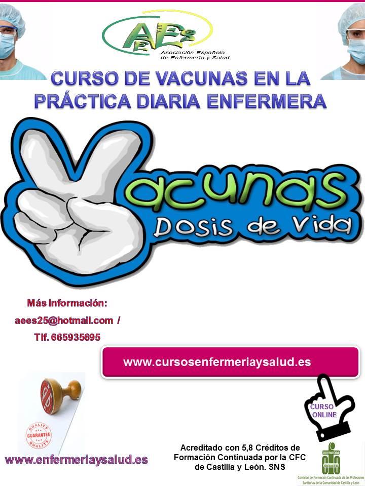Curso de Vacunas en la Práctica Diaria Enfermera