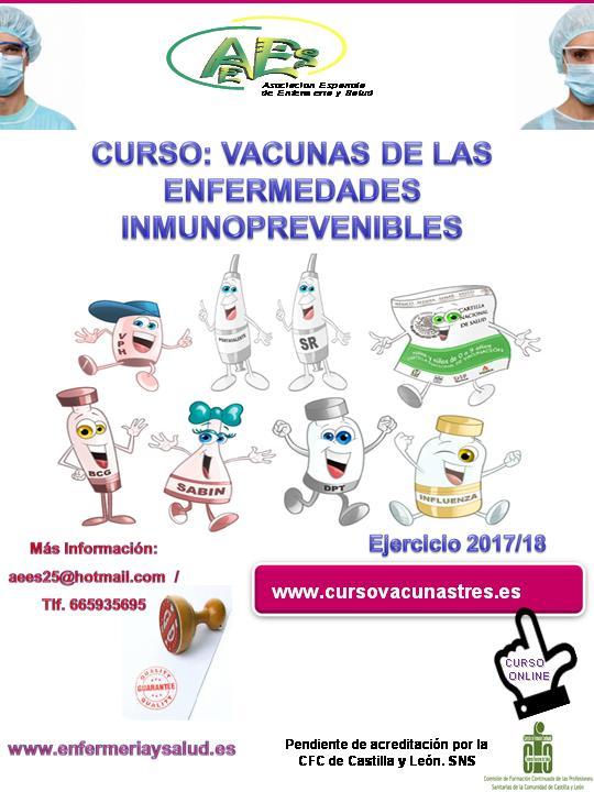 Curso de Vacunas de las Enfermedades Inmunoprevenibles (3º curso del itinerario de vacunas)
