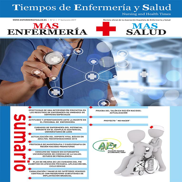 Tiempos de Enfermería y Salud- Nursing and Health Times- Nº 2- 1er. semestre 2017
