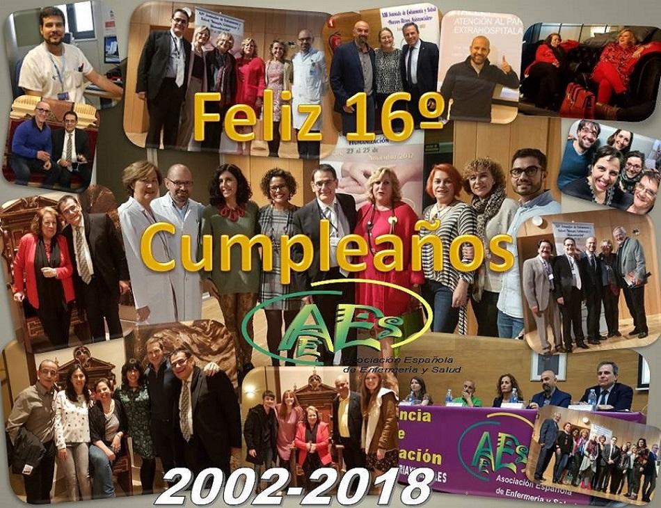 Asociación Española de Enfermería y Salud 2002-2018