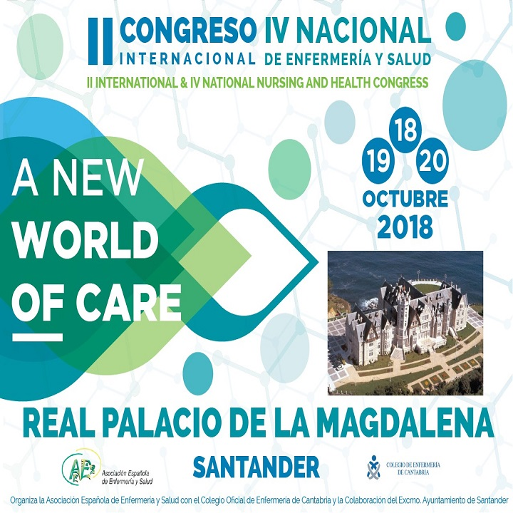II CONGRESO INTERNACIONAL Y IV NACIONAL DE ENFERMERIA Y SALUD: A NEW WORLD OF CARE