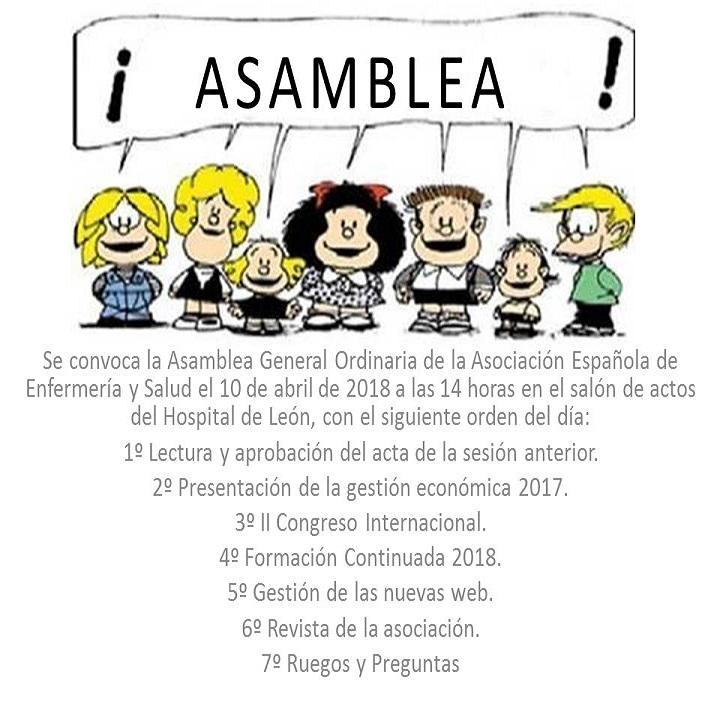 CONVOCATORIA DE ASAMBLEA GENERAL ORDINARIA