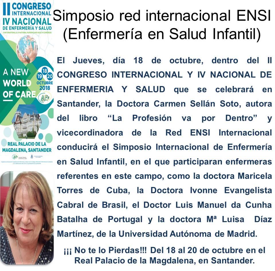 SIMPOSIO RED INTERNACIONAL DE ENFERMERIA EN SALUD INFANTIL (ENSI)