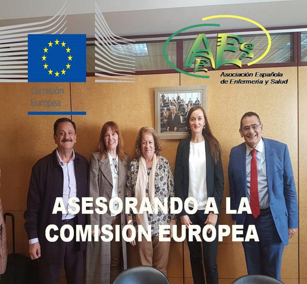 ASESORANDO A LA COMISION EUROPEA