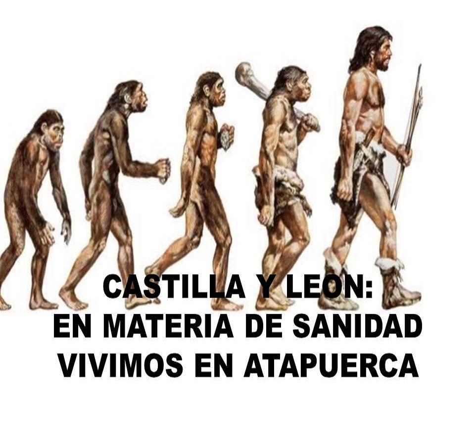 CASTILLA Y LEON: EN MATERIA DE SANIDAD VIVIMOS EN ATAPUERCA