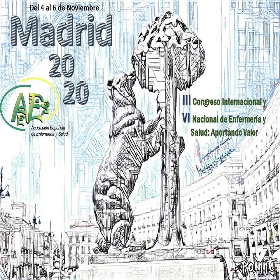 III CONGRESO INTERNACIONAL Y VI NACIONAL DE ENFERMERIA Y SALUD.  4 AL 6 DE NOVIEMBRE 2020