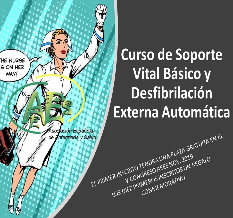 Curso de Soporte Vital Básico y Desfibrilación Externa Automática