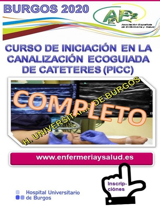 CURSO DE INICIACIÓN EN LA CANALIZACIÓN ECOGUIADA DE CATETERES (PICC) EN BURGOS