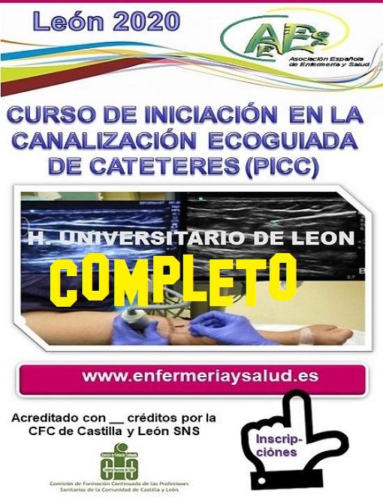 CURSO DE INICIACIÓN EN LA CANALIZACIÓN ECOGUIADA DE CATETERES (PICC)