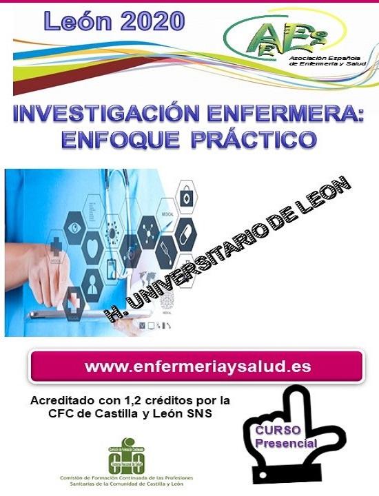 INVESTIGACIÓN ENFERMERA: ENFOQUE PRÁCTICO