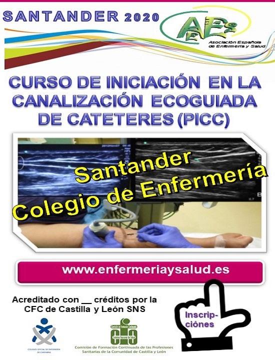 CURSO DE INICIACIÓN EN LA CANALIZACIÓN ECOGUIADA DE CATETERES (PICC) SANTANDER