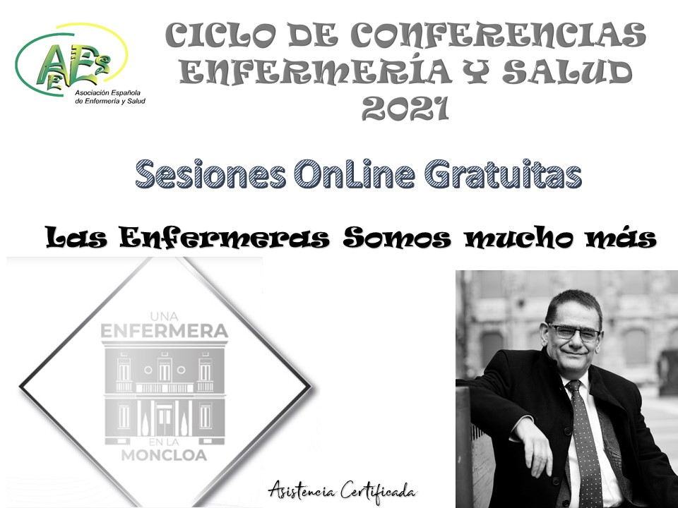 CICLO DE CONFERENCIAS ENFERMERIA Y SALUD 2021