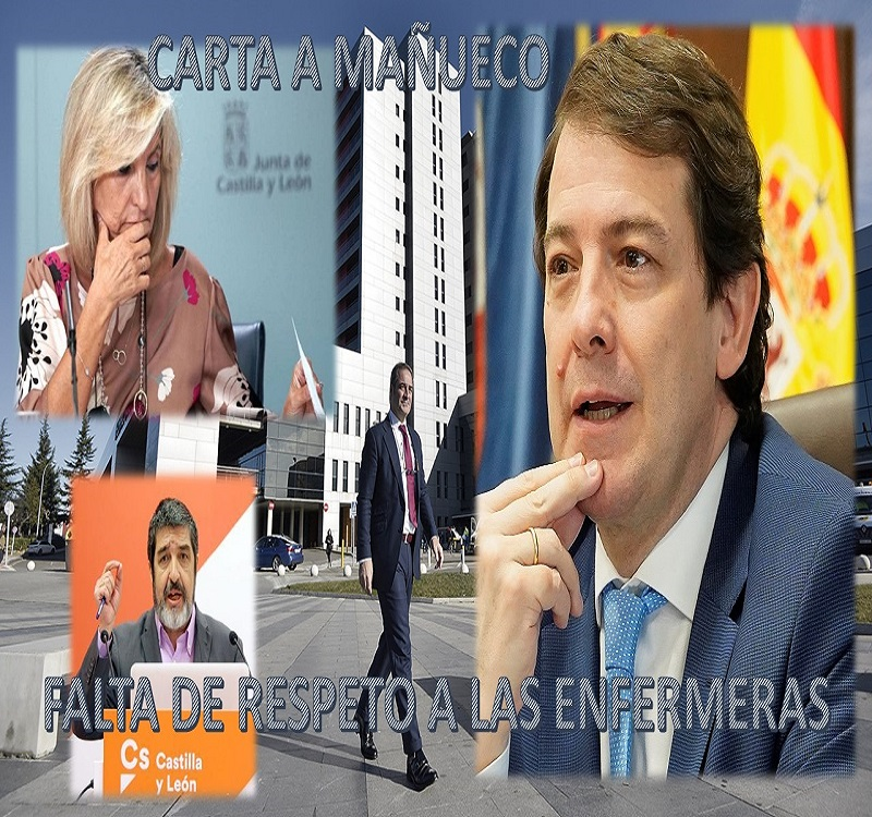 AEES SE DIRIGE AL PRESIDENTE DE CASTILLA Y LEON, PIDIENDO RESPETO PARA LAS ENFERMERAS